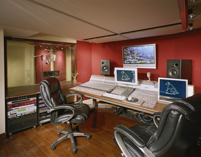 Yellow Sound Lab Control Room