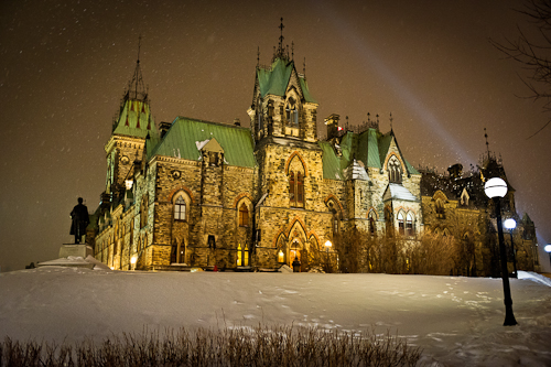 Post image for Ottawa At Night