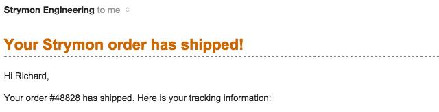 DECO Shipment