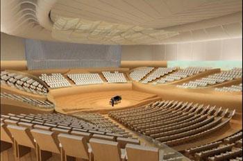 Atlanta Symphony Orchestra concert hall