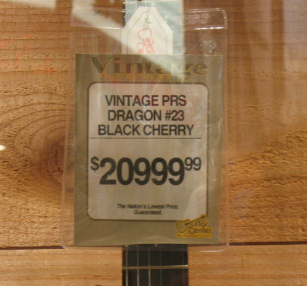 Pricey PRS