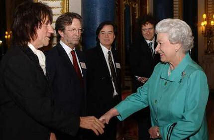 Eric Clapton? What do you do?