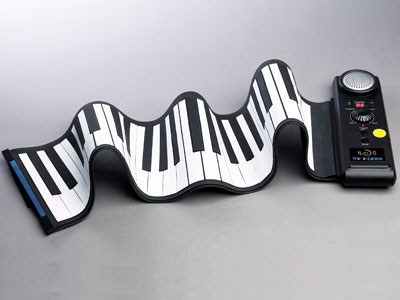 Hey! A Roll-up Piano!