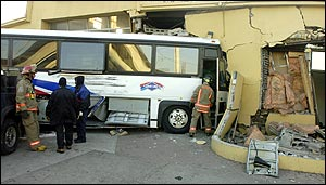Cherry Beach Bus Crash