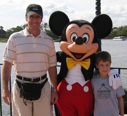 Me, Matthew and Mickey