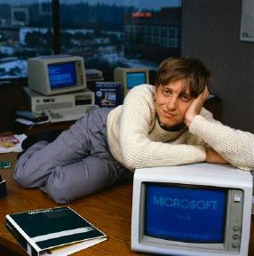 Bill and his Mac