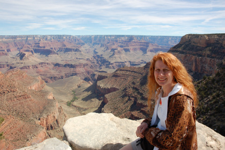 Grand Canyon with Lorraine