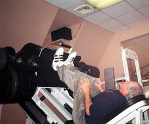 Pat Robertson Leg Press