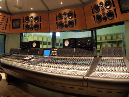 Sphere Studios Control Room