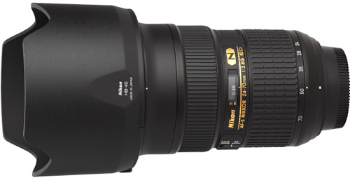Nikon 24 70mm f 2 8G AF S Lens