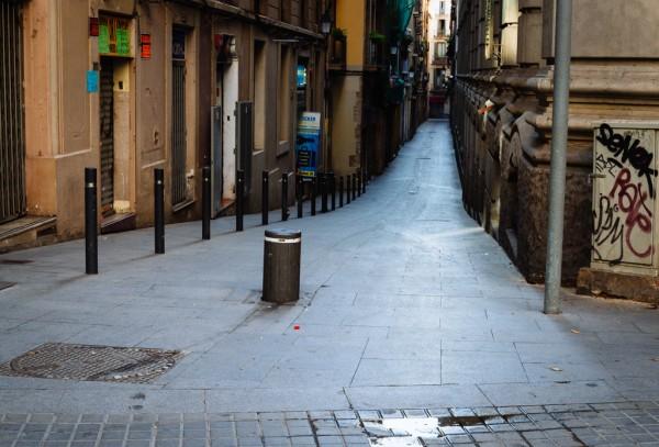 Alleys of Las Ramblas