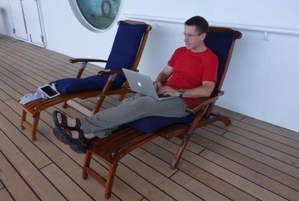 Richard at Sea