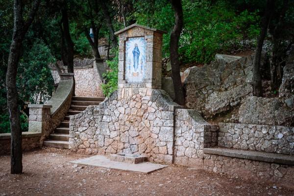 Prayer Stop at Montserrat