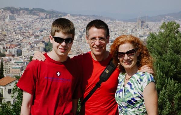 Cleaver Family in Barcelona