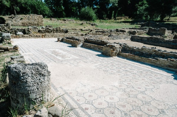 Mosaic Floor at Olympia