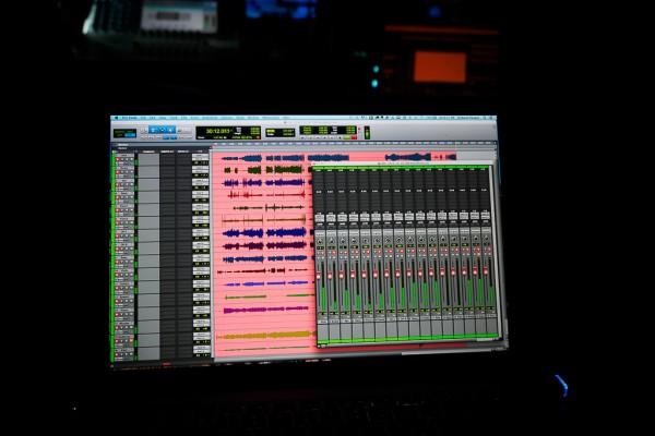 Pro Tools 11HD Screen