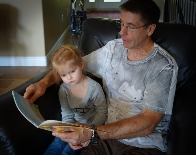 Grandpa and Clara