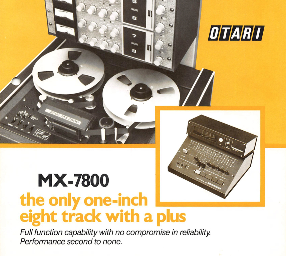 OtariMX7800