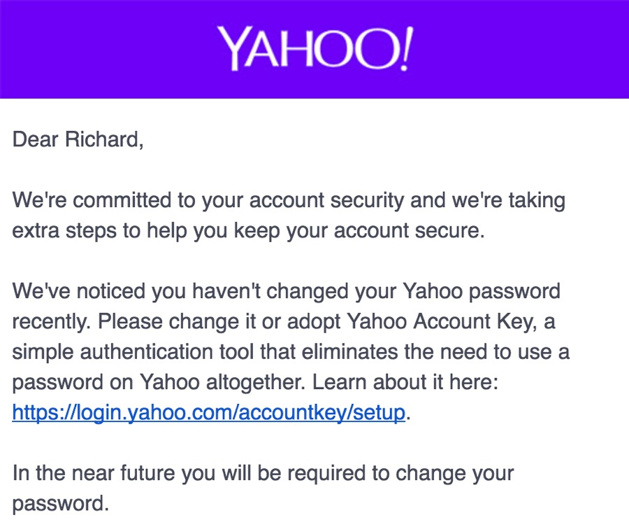 YahooSecure