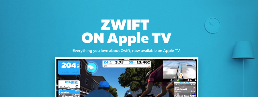 Zwift on Apple TV – richard cleaver